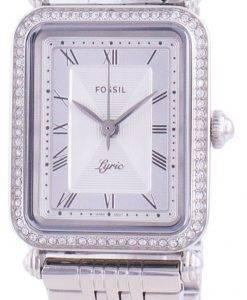 화석 가사 ES4721 쿼츠 다이아몬드 악센트 여성용 시계
