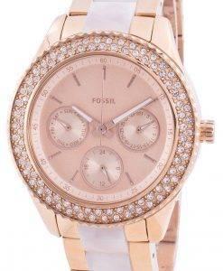 화석 Stella ES4755 쿼츠 다이아몬드 악센트 여성용 시계