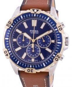화석 개렛 FS5625 쿼츠 크로노 그래프 남성용 시계
