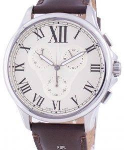 화석 Monty FS5638 쿼츠 크로노 그래프 남성용 시계