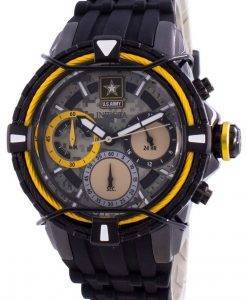 인빅타 미 육군 31850 쿼츠 크로노 그래프 여성용 시계