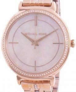 Michael Kors Cinthia MK3643 쿼츠 다이아몬드 악센트 여성용 시계