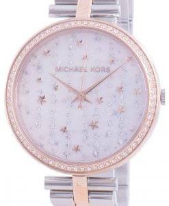 Michael Kors Maci MK4452 쿼츠 다이아몬드 악센트 여성용 시계