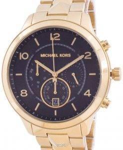 마이클 코어스 런웨이 머서 MK6712 쿼츠 크로노 그래프 여성용 시계