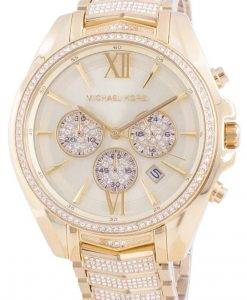 Michael Kors Whitney MK6729 쿼츠 다이아몬드 악센트 여성용 시계