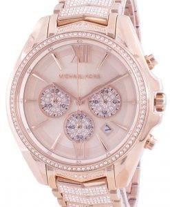 Michael Kors Whitney MK6730 쿼츠 다이아몬드 악센트 여성용 시계