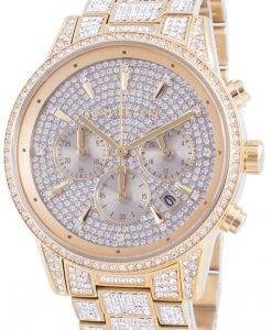 Michael Kors Ritz MK6747 쿼츠 다이아몬드 악센트 여성용 시계