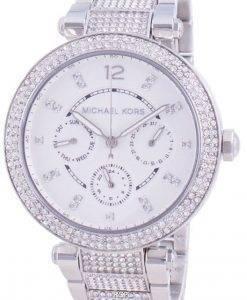 Michael Kors Parker MK6759 쿼츠 다이아몬드 악센트 여성용 시계