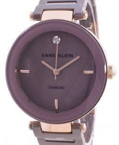 Anne Klein 1018RGMV 쿼츠 다이아몬드 악센트 여성용 시계
