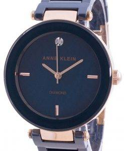 Anne Klein 1018RGNV 쿼츠 다이아몬드 악센트 여성용 시계