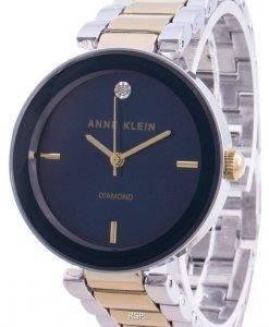 Anne Klein 1363NVTT 쿼츠 다이아몬드 악센트 여성용 시계