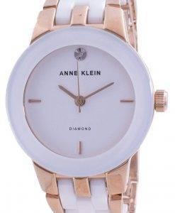 Anne Klein 1610WTRG 쿼츠 다이아몬드 악센트 여성용 시계