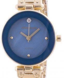 Anne Klein 1980BLGB 쿼츠 다이아몬드 악센트 여성용 시계