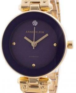 Anne Klein 1980PLGB 쿼츠 다이아몬드 악센트 여성용 시계
