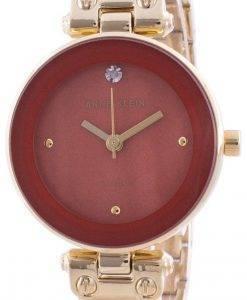 Anne Klein 1980RUGB 쿼츠 다이아몬드 악센트 여성용 시계