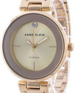 Anne Klein 2512BYGB 쿼츠 다이아몬드 악센트 여성용 시계