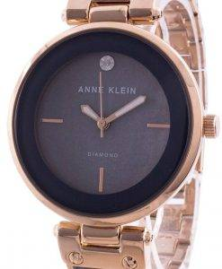 Anne Klein 2512GYRG 쿼츠 다이아몬드 악센트 여성용 시계