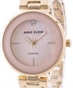 Anne Klein 2512LPGB 쿼츠 다이아몬드 악센트 여성용 시계
