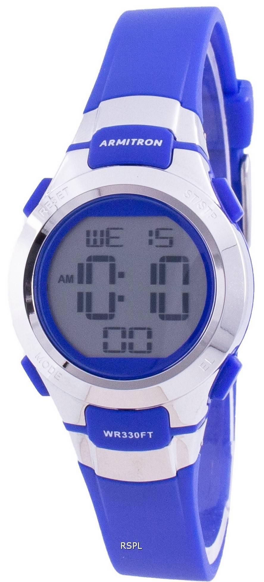 Armitron Sport 457012BLU 쿼츠 여성용 시계