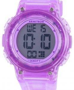 Armitron Sport 457086TPR 쿼츠 여성용 시계