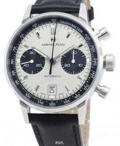 해밀턴 인트라 매틱 H38416711 타키 미터 오토매틱 남성용 시계