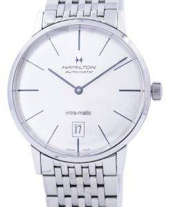 해밀턴 인트라 매틱 오토매틱은 다이얼 H38455151 남성용 시계