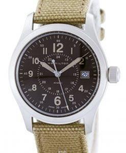 해밀턴 Khaki Filed Quartz Swiss Made H68201993 남성용 시계