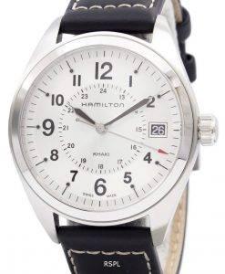 해밀턴 Khaki Field 쿼츠 Swiss Made H68551753 남성용 시계