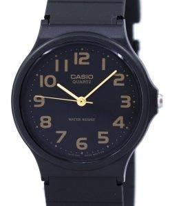 카시오 클래식 쿼츠 블랙 스트랩 MQ-24-1B2LDF MQ24-1B2LDF 남성용 시계