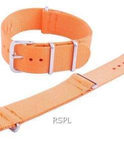 세이코 Orange NATO7 Nylon Strap 22mm