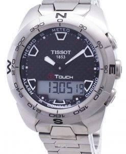 티쏘 T-Touch Expert 티타늄 T013.420.44.201.00 T0134204420100 나침반 남자 시계