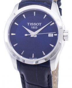 티쏘 T-Classic Couturier Lady T035.210.16.041.00 T0352101604100 쿼츠 여성용 시계