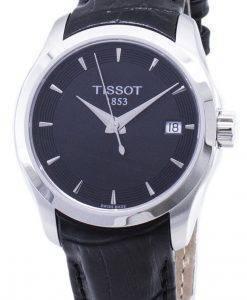 티쏘 T-Classic Couturier Lady T035.210.16.051.01 T0352101605101 쿼츠 여성용 시계