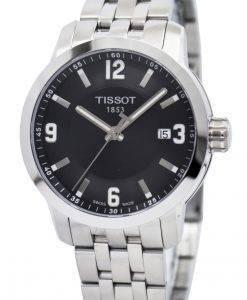 티쏘 T-Sport PRC 200 쿼츠 검은 색 다이얼 T055.410.11.057.00 T0554101105700 남자 시계