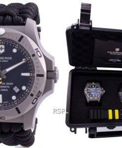 Victorinox Swiss Army I.N.O.X. Professional Diver Titanium Anti-Magnetic 241812 Quartz 200M Men's Watch