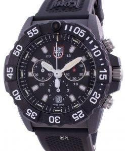 Luminox Navy Seal XS.3581 쿼츠 크로노 그래프 200M 남성용 시계