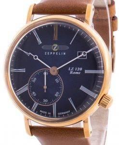 Zeppelin LZ120 로마 7137-3 71373 쿼츠 남성용 시계