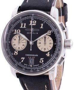 Zeppelin LZ127 8674-3 86743 쿼츠 크로노 그래프 남성용 시계