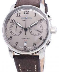 Zeppelin LZ 127 8678-4 86784 크로노 그래프 쿼츠 남성용 시계