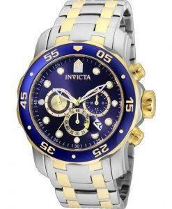 Invicta Pro Diver Scuba 24849 쿼츠 크로노 그래프 200M 남성용 시계