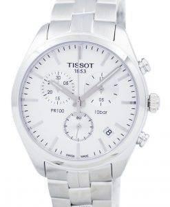 Tissot PR 100 Quartz Chronograph T101.417.11.031.00 T1014171103100 Mens Watch