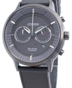 Citizen Eco-Drive Titanium CA4405-17H Chronograph Men's Watch