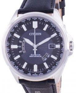 씨티즌 에코 드라이브 글로벌 라디오 제어 CB0180-11L 100M 남성용 시계