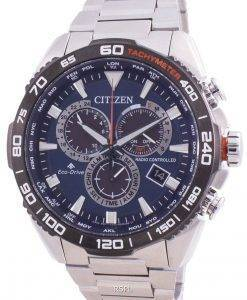 Citizen Promaster Radio Controlled World Time Eco-Drive CB5034-82L 200M Mens Watch