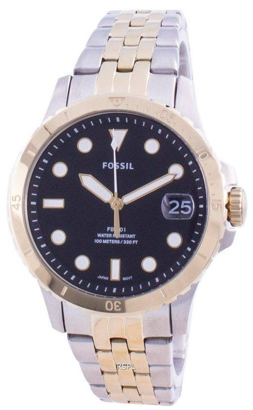 Fossil FB-01 Black Dial Quartz ES4745 100M Women's Watch