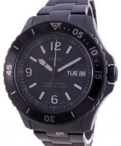 Fossil FB-02 Black Dial Stainless Steel Quartz FS5688 100M Men's Watch