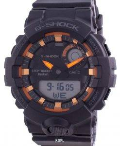 Casio G-Shock 크로노 그래프 검은 색 다이얼 쿼츠 GBA-800SF-1A 200M 남성용 시계