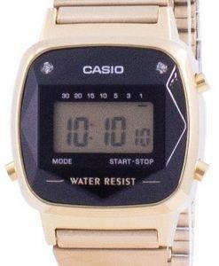 Casio Youth 빈티지 데일리 알람 LA-670WGAD-1 LA670WGAD-1 여성용 시계
