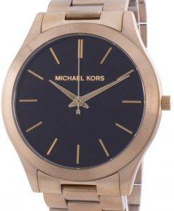 Michael Kors Slim Runway Black Dial Quartz MK8795 Men's Watch