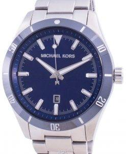 Michael Kors Layton Blue Dial Stainless Steel Quartz MK8815 Men's Watch